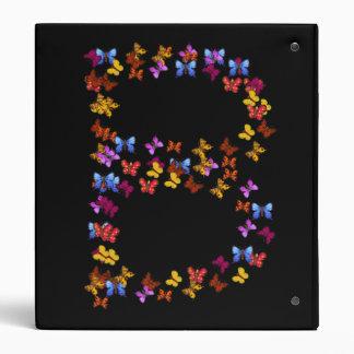 """Letra B de los gráficos coloridos de la mariposa Carpeta 1"""""""