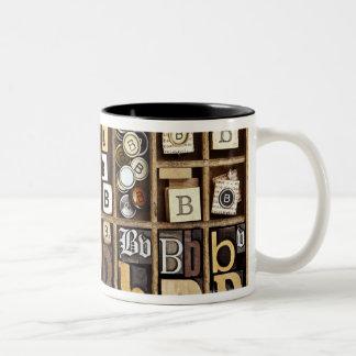 Letra B Taza De Café