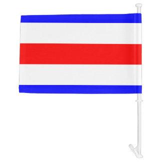 Letra C de Charlie de la bandera de señal náutica