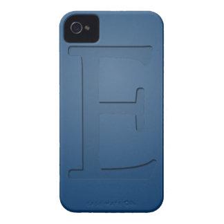 Letra con monograma E de la inserción Case-Mate iPhone 4 Coberturas