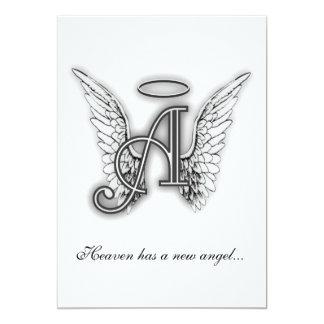 Letra conmemorativa A del tributo del monograma Comunicado Personal