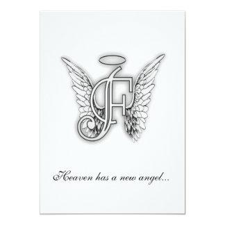 Letra conmemorativa F del tributo del monograma Anuncios Personalizados