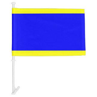 Letra D del delta de la bandera de señal náutica