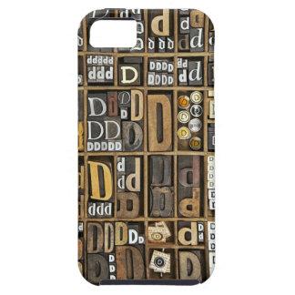 Letra D iPhone 5 Funda