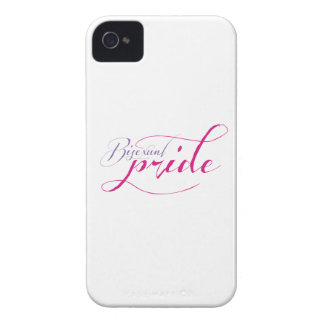 LETRA DE AMOR BISEXUAL DEL ORGULLO - .PNG Case-Mate iPhone 4 CÁRCASA