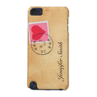 Letra de amor con la caja de iPod del sello del co Funda Para iPod Touch 5G