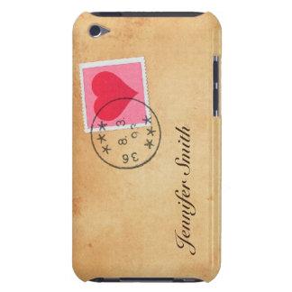 Letra de amor con la caja de iPod del sello del co iPod Case-Mate Cárcasas