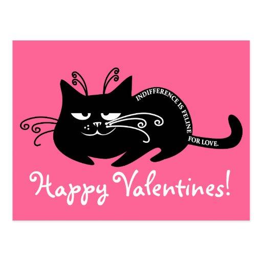 Letra de amor de mi gato: lengua felina de discurs postales