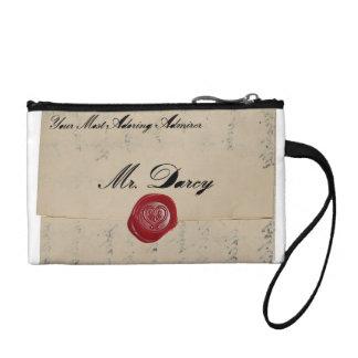 Letra de amor de Sr. Darcy