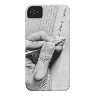 letra de amor iPhone 4 Case-Mate cárcasas