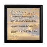 Letra de dios cajas de recuerdo