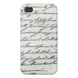 Letra de Guillermo IV a señora Nelson iPhone 4 Coberturas