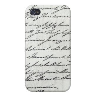 Letra de Guillermo IV a señora Nelson iPhone 4 Carcasa