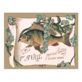 Letra de la nomeolvides de los pescados postales