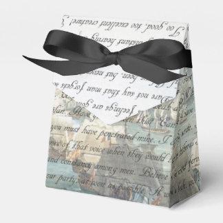 Letra de la persuasión caja para regalos