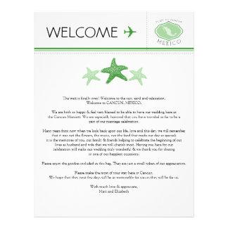 Letra de la recepción del boda de las estrellas de plantillas de membrete