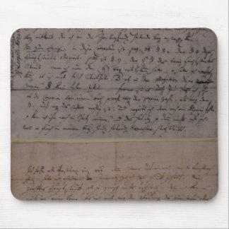 Letra de Leopold Mozart Alfombrilla De Raton