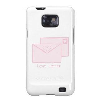 Letra de Letter_Love Samsung Galaxy SII Fundas