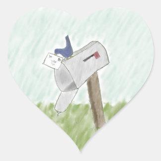 Letra de los pegatinas de un Bluebird