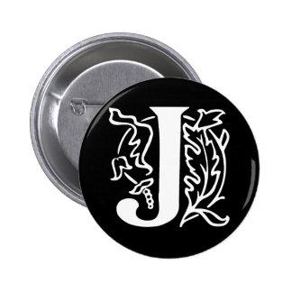Letra de lujo J Pin