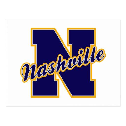 Letra de Nashville Postales