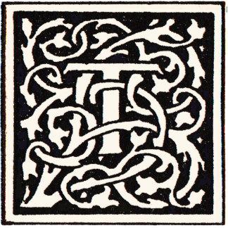 Letra de Nouveau del arte del monograma T del Fotoescultura Vertical