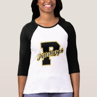 Letra de Pittsburgh Camiseta