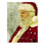 Letra de Santas Postal