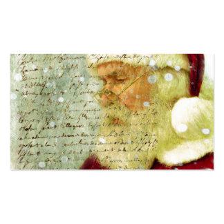 Letra de Santas Tarjeta De Negocio