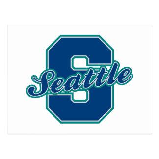 Letra de Seattle Postales