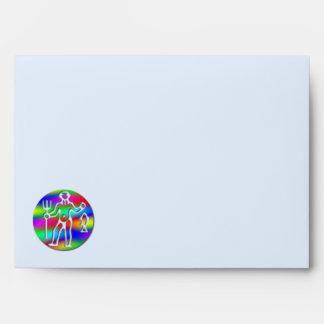 Letra del arco iris de la muestra de la estrella d