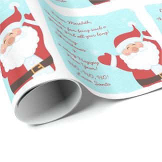Letra del navidad de Papá Noel