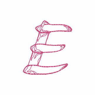Letra E de Handstitch