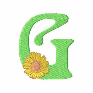 Letra G de la flor