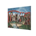 Letra grande ScenesTennessee de Tennessee (presa) Impresión En Lienzo