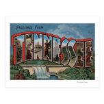Letra grande ScenesTennessee de Tennessee (presa) Postales