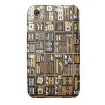 Letra H iPhone 3 Case-Mate Cobertura