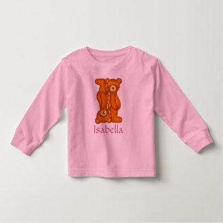 Letra I Initial~Custom Name~Shirt del alfabeto del Poleras