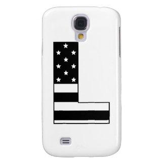 letra L de la raya de las estrellas Funda Para Galaxy S4