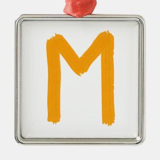Letra M Ornatos