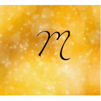Letra M Esculturas Fotográficas