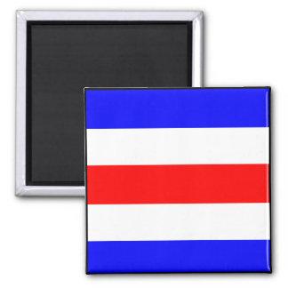 Letra marítima internacional de la bandera de imanes