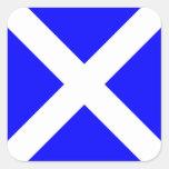 Letra marítima internacional de la bandera de colcomanias cuadradas personalizadas