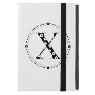 letra modelada X de la flor iPad Mini Cárcasa