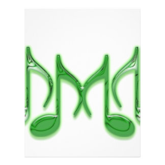 Letra musical M Tarjetas Informativas