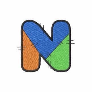 Letra N del remiendo