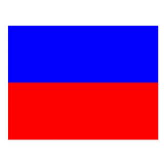 Letra náutica E (eco) de la señal de la bandera Postales