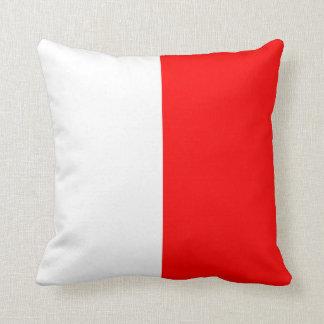 Letra náutica H de la señal de la bandera Cojín