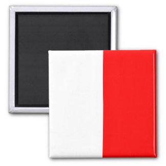 Letra náutica H (hotel) de la señal de la bandera Imán Cuadrado