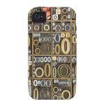 Letra O Case-Mate iPhone 4 Carcasa